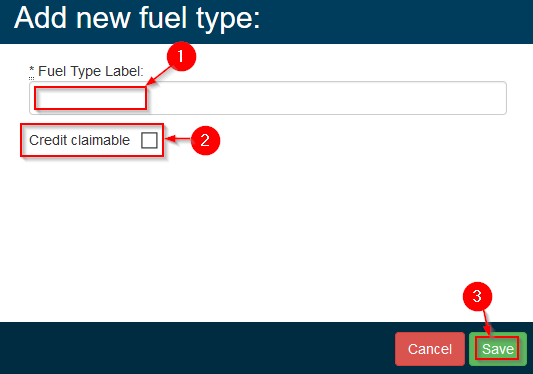 Gearbox - Fuel Types - Step 4