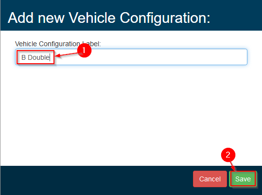 Gearbox - Vehicle Config. - Step 4
